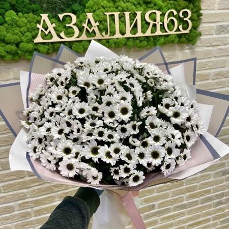 Букет из хризантемы Ин Янг 25 шт