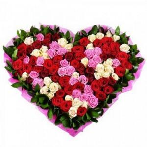 Какие цветы дарить на День влюбленных?
